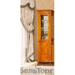"Шкаф с витриной ""Валенсия 1з"" П 244.14 люкс"