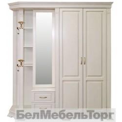 """Шкаф комбинированный для прихожей""""Верди 1""""П 410.01 с/к"""