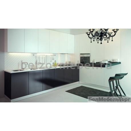 Кухня Cистема RAL 9003/RAL 9005 глянец