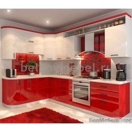Кухня Система RAL 9010/RAL 3028 глянец