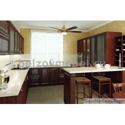 Кухня из массива Дуба 11 Тип 08