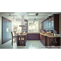 Кухня из массива Ясеня Т 503/119