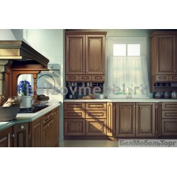 Кухня из массива Ольхи Т 304/111