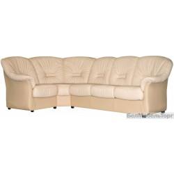Угловой комбинированный диван Омега
