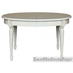 Стол обеденный Верди 14  п.323.01 слоновая кость