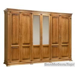 Шкаф «Верди Люкс» 6-ти дверный  П 434.13 дуб