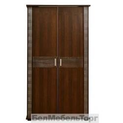 Шкаф 2-х дверный Тунис п.344.06 Венге