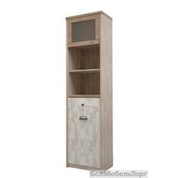 Шкаф с витриной Дизель 1V1D1S2N/D2