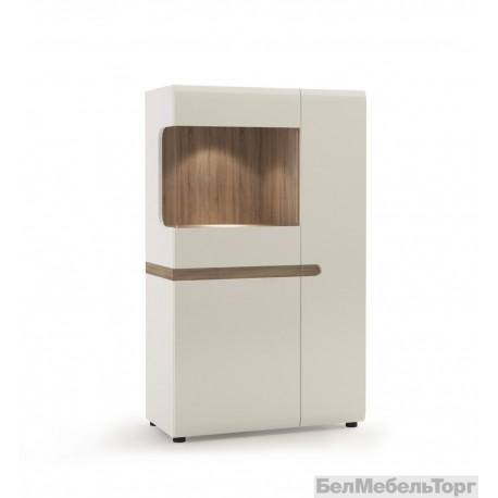 Шкаф с витриной Линате 3D-1S / TYP 32