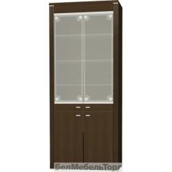 Шкаф-витрина Монте 2VB с рисунком