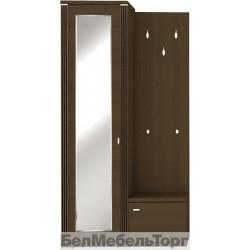 Шкаф Монте с зеркалом и вешалкой L