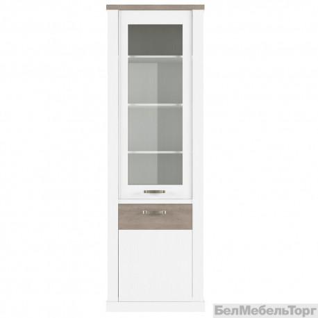 Шкаф с витриной Прованс 1V1D