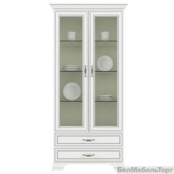 Шкаф с витриной Тиффани 2V2S