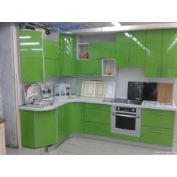 Кухонный гарнитур Постформинг Зеленый