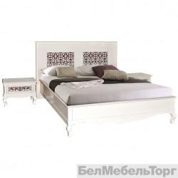 Кровать двойная «Видана 1800» (П 426.02) светлый ром