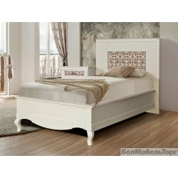 Кровать одинарная «Видана 900» (П 426.02-4) светлый ром