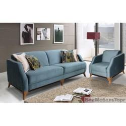 """Трехместный тканевый диван """"Уно"""""""