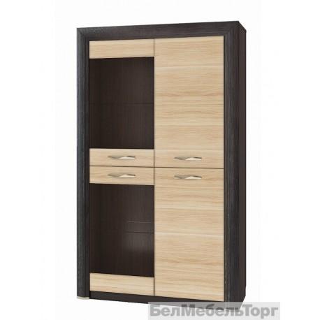 Шкаф-витрина 2V2D Денвер