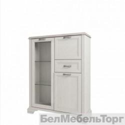 Шкаф с витриной 1V2D1S Монако