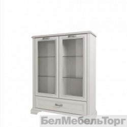 Шкаф с витриной 2V1SL Монако
