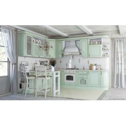 Кухня Париж (зеленая патина)