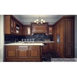 Кухня из массива Ольхи Т 314 К 111