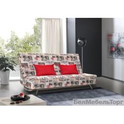 Трехместный тканевый диван Флинт