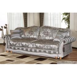 Трехместный тканевый диван Латина