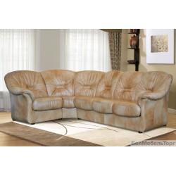Угловой тканевый диван Омега