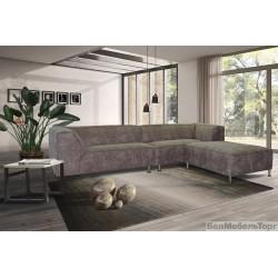 Угловой тканевый диван «Вики» 25L/25R