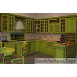 Кухня из массива Ясеня Т 520/117
