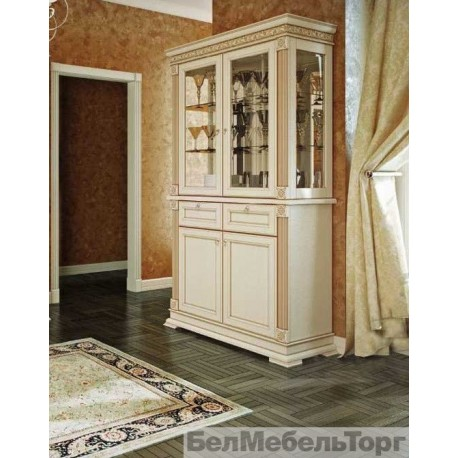 Виола шкаф комбинированный №1