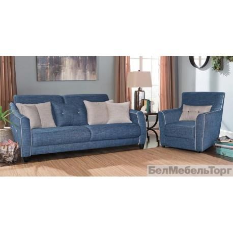 Набор мягкой мебели из ткани Бергамо