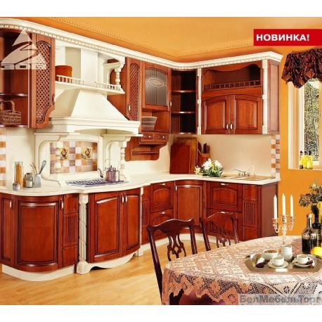 Кухня из массива Ясеня Т 512\102