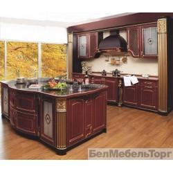 Кухня из массива Ясеня Т 518/116
