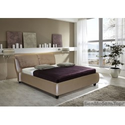 """Мягкая кровать """"Кровать Тиффани 16М"""""""