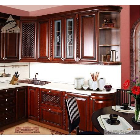 Кухня из массива Черешни 6 Тип 08